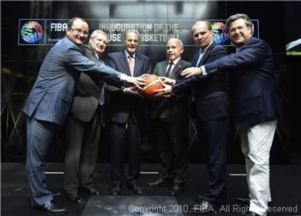 18 June 2013 FIBA inaugurates House of Basketball